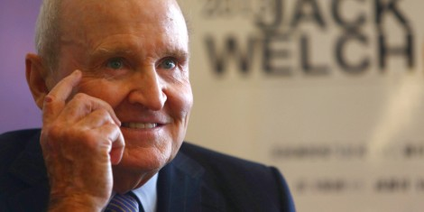 Former General Electric Chairman Jack Welch Visits Chengdu