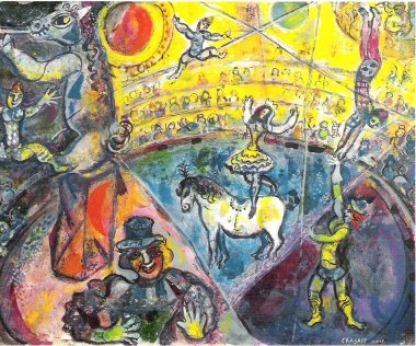 Chagall The Circus