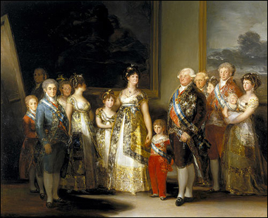 francisco goya charles iv and family