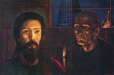 jesus grand inquisitor lazunov