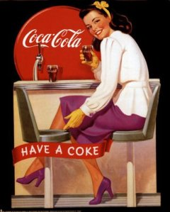 coca cola advertizing