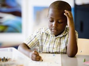 black-boy at school