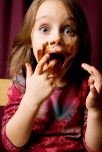 girl-eating-chocolate