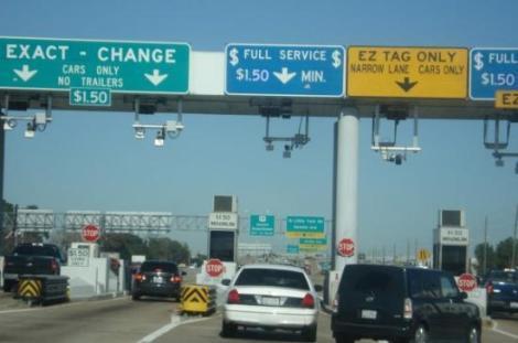 texas car toll