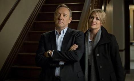 House of Cards Kevin Spacey Robin Wright 1