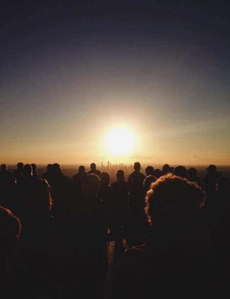 sunrise Easter service