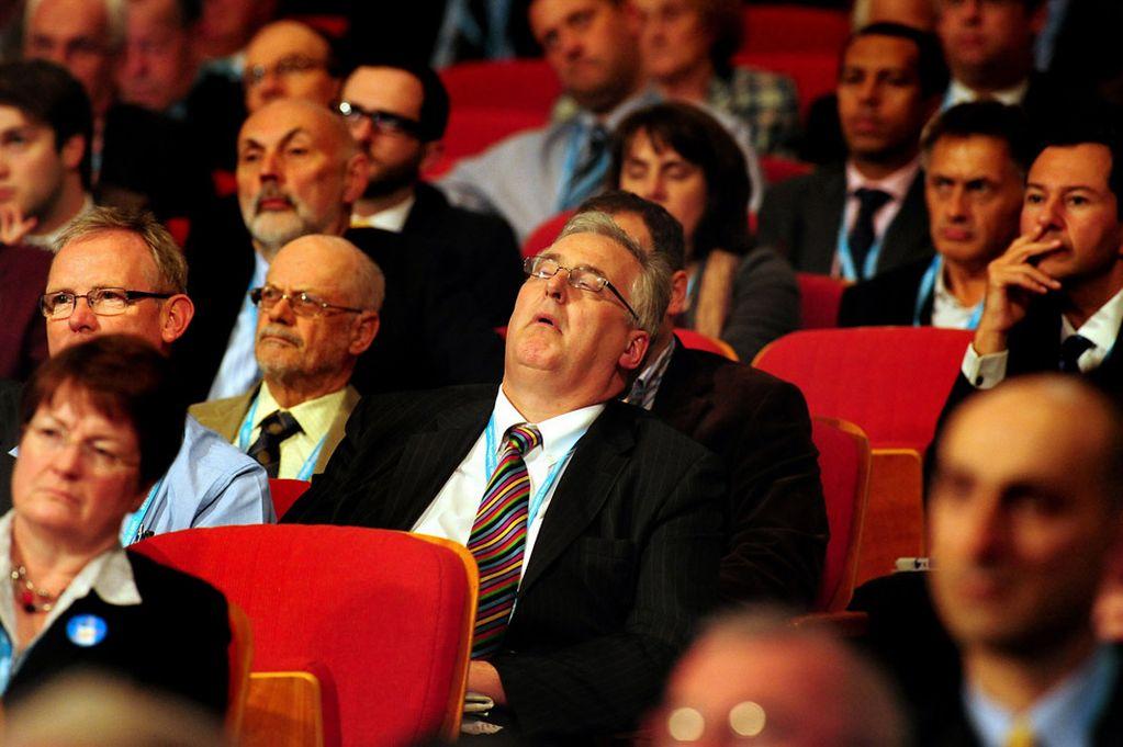 Image result for bored delegates