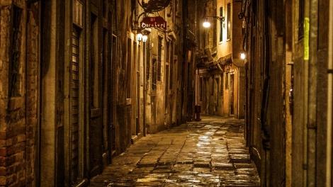 Italian street Rome